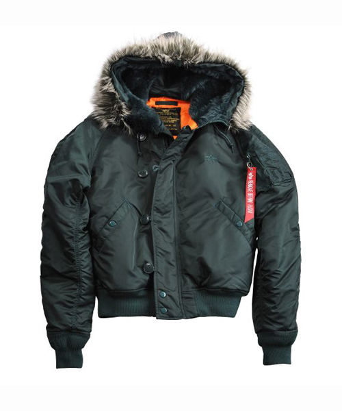 premium selection 155b6 668c4 Alpha Industries N2B VF-59 Bomber Parka Dark Petrol