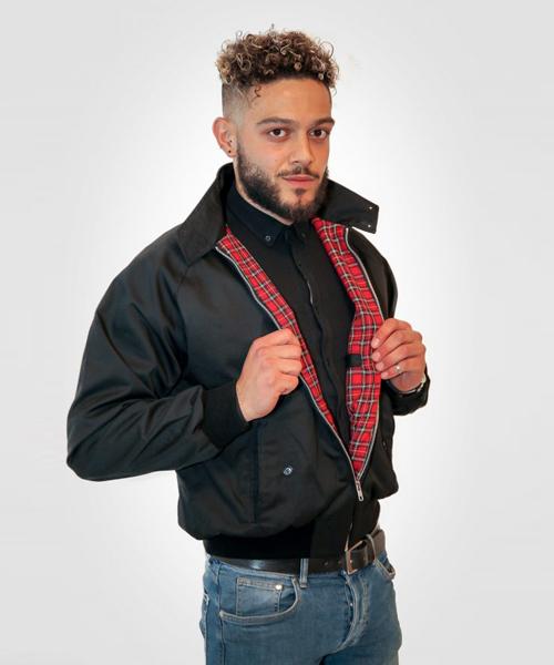 Combat Harrington Jacket Black