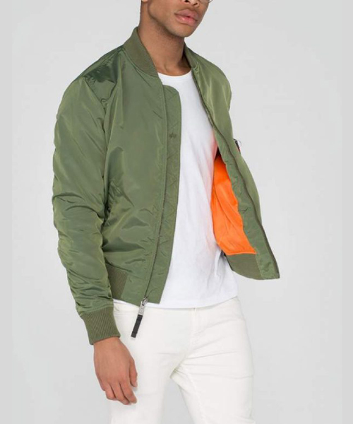 07ba9cd93 Alpha Industries MA1 TT Bomber Jacket Sage