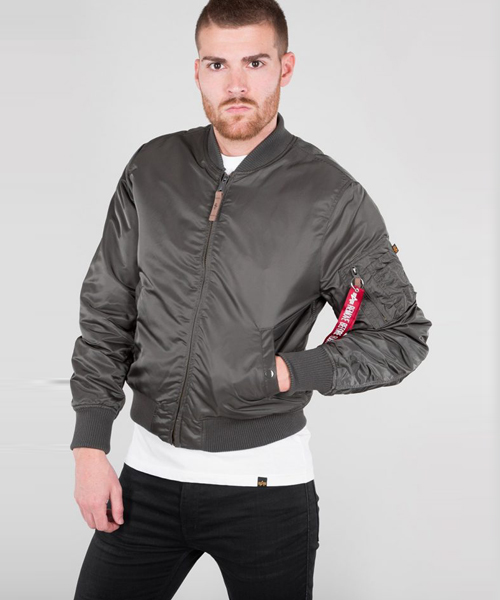 a02faed50 Alpha Industries MA1 VF-59 Bomber Jacket Rep Grey