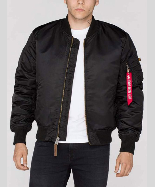 5283ac260 Alpha Industries MA1 VF-59 Bomber Jacket Black