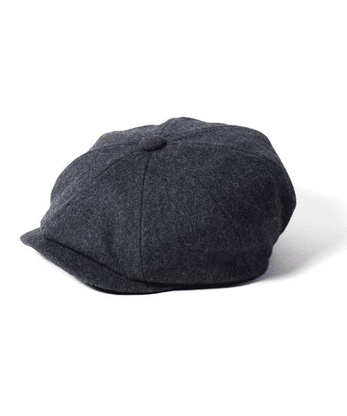 a2b57120bae Failsworth Alfie Melton Baker Boy Cap Grey - Bennevis Clothing
