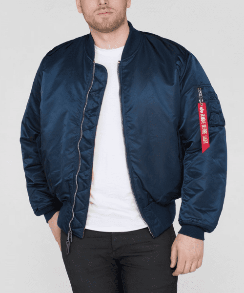 top-rated good service shopping Alpha Industries MA1 Bomber Jacket Rep Blue