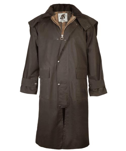 Lavenir Stockmans Cavalier Waxed Cotton Coat Bennevis