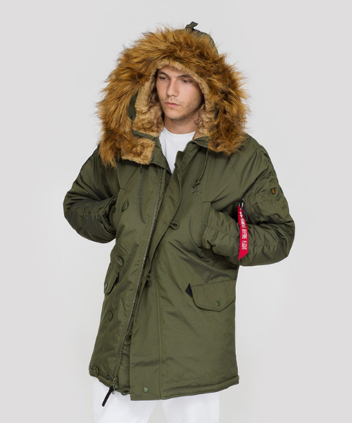 Ser amado Monet relé  Alpha Industries Explorer Parka Dark Green - Bennevis Clothing