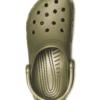 CLASSIC-CROCS-ARMY-GREEN-SANDLES 5