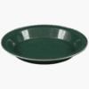 DELUXE- ENAMEL PLATE-HIGHLANDER-GREEN-1