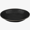 DELUXE- ENAMEL SOUP PLATE-HIGHLANDER-BLACK-1