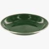 DELUXE- ENAMEL SOUP PLATE-HIGHLANDER-GREEN-1