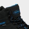 HI-TEC RAVEN MID- WATERPROOF HIKING- BLACK- BLUE-2