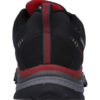 HI-TEC-STINGER-WATERPROOF WALKING SHOES- BLACK-RED-4